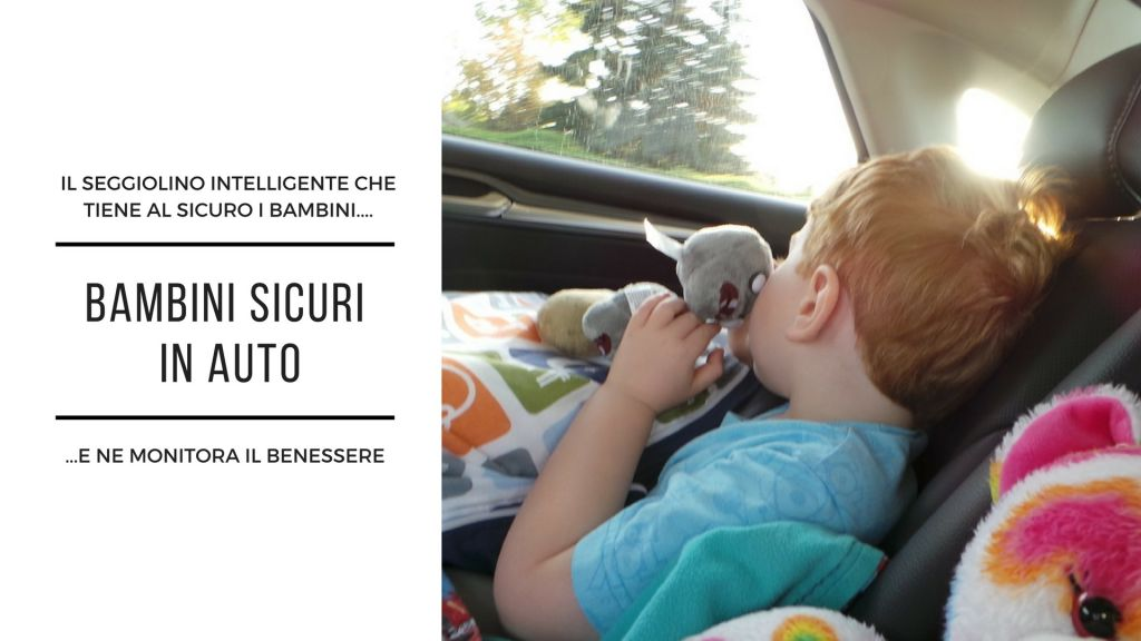 Bambini sicuri in auto