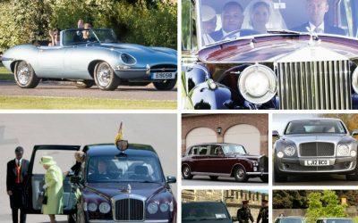 Auto protagoniste al Royal Wedding